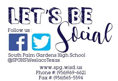 Student Parent Info South Palm Gardens High School